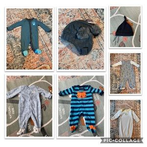 Newborn baby gender neutral/boy bundle